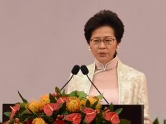 Carrie Lam dISCOURS