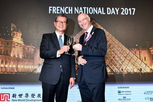 Paul Chan et Eric Berti