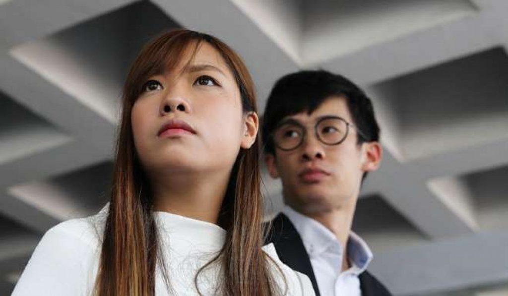 Yau Wai-ching et Baggio Leung