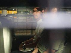 Joshua Wong menottes