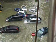 Typhon Hato rue Macao