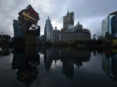 Casino Macao inondation