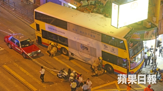 accident Sham shui po