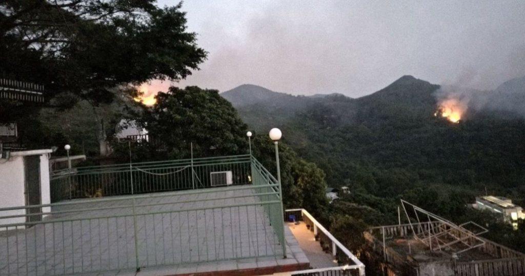 incendie Lamma Island