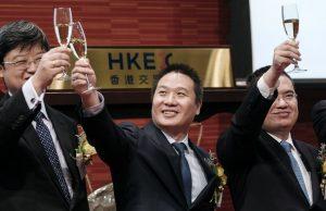 China Literature bourse champagne
