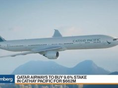 Qatar Cathay Pacific