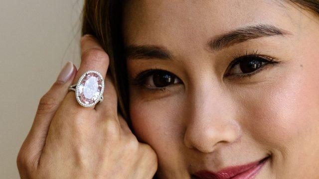 diamant rose Pink Promise