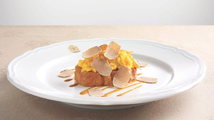 toast aux truffes