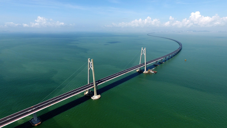 """Résultat de recherche d'images pour """"plus long pont du monde entre Hong Kong et Macao"""""""