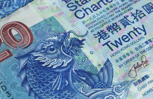 Hong Kong 20 dollars