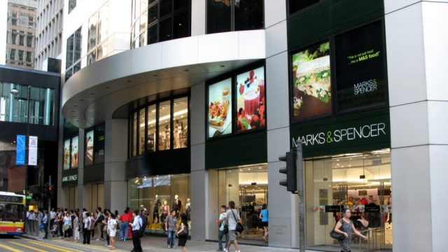 Marks and Spencer Central Hong Kong