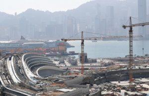 construction gare hong kong