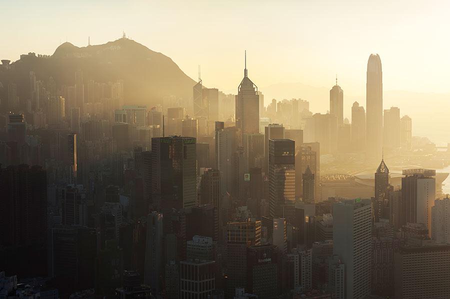 hong kong photo pollution