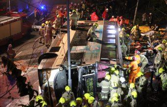 accident bus Tai Po
