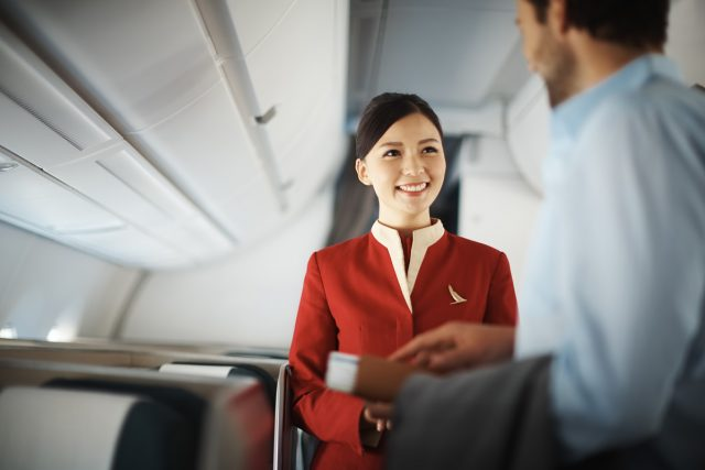 cathay pacific classe affaire