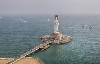 statue Guanyin Sanya Hainan