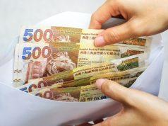 enveloppe billets hongkongais