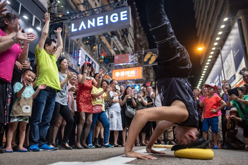 Artistes de rue Mongkok