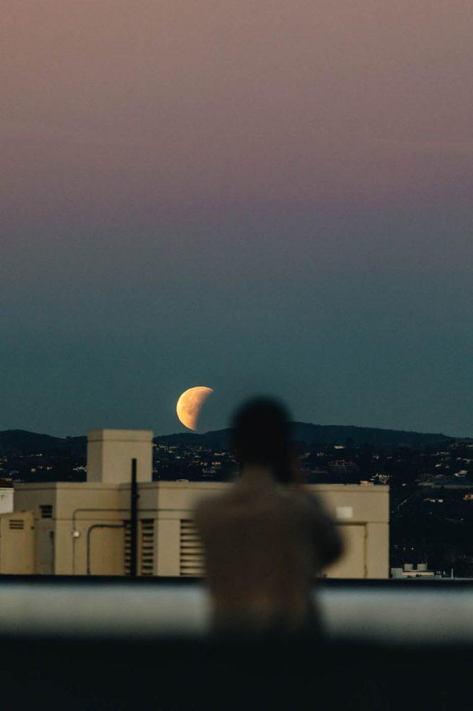 Photographie Eclipse de Lune