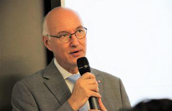 Le Consul général de France à Hong Kong, Eric Berti