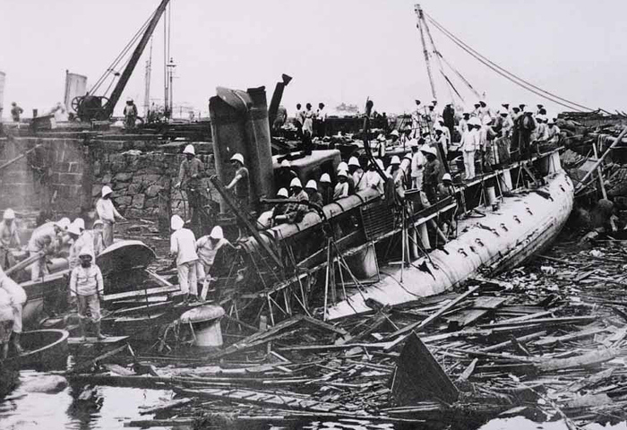 Le contre-torpilleur Fronde