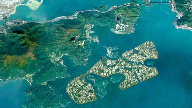 Ile artificielle Hong Kong