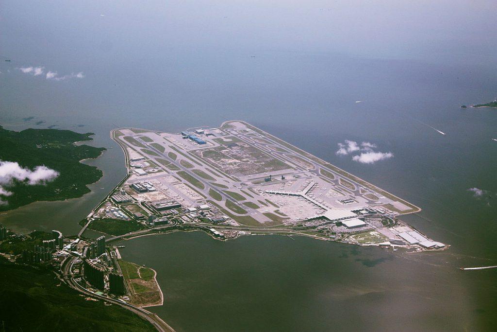 L'aéroport international de Hong Kong