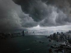 Ciel noir Hong Kong