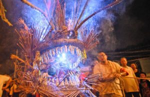 Danse du dragon Pok Fu Lam