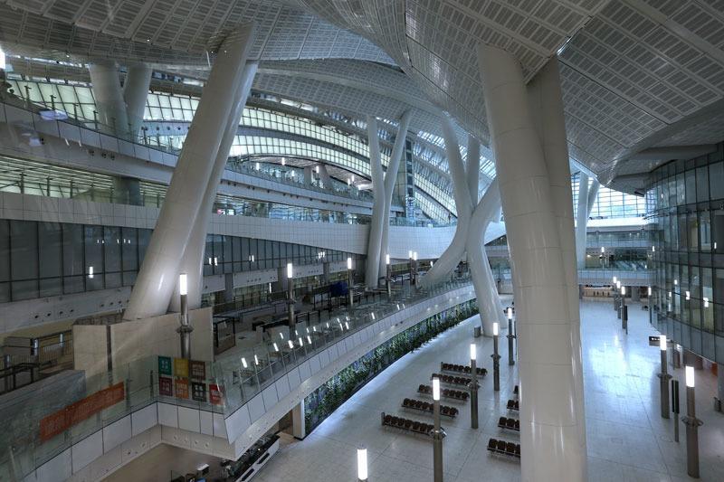 Gare de West Kowloon Interieur