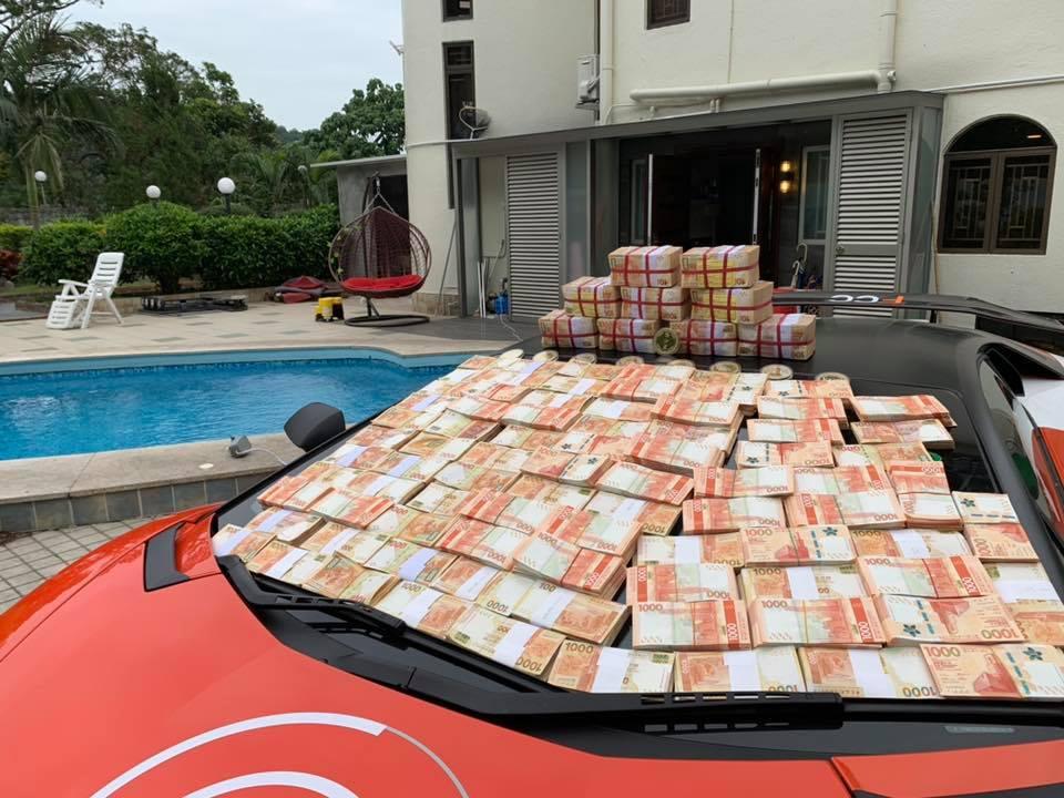 Lamborghini billets hong Kong