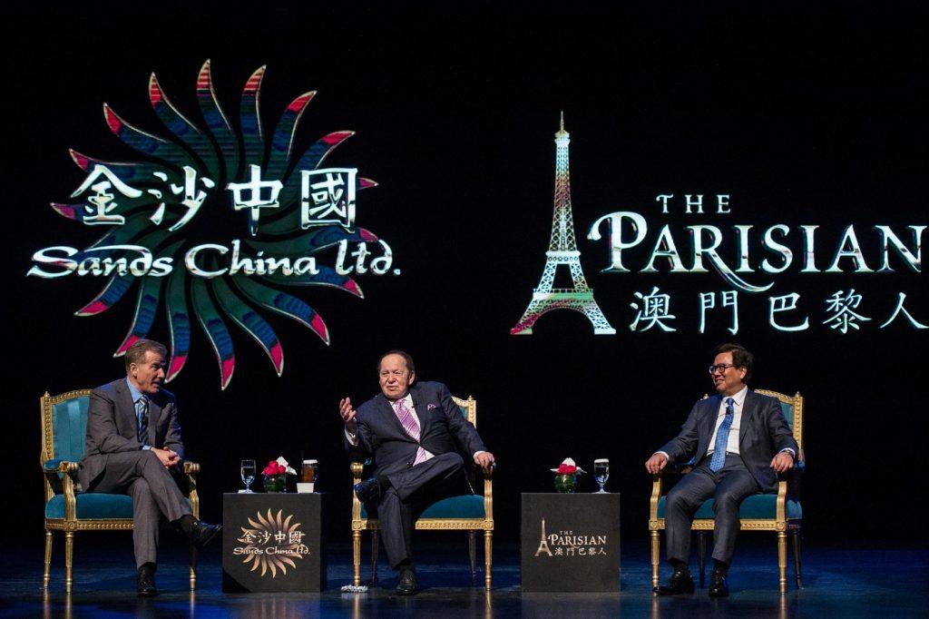 Ouverture The Parisian Macao