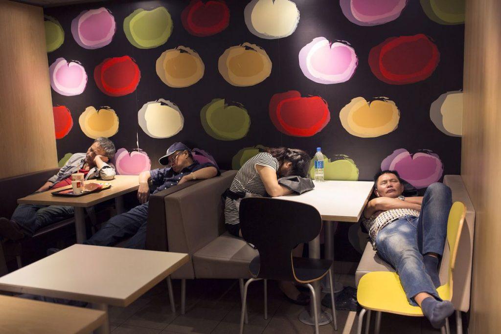 McRefugees Hong Kong McDonalds