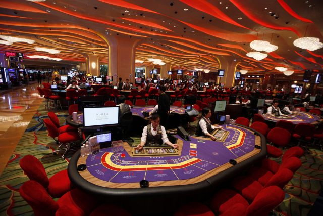 Sands Macao Table de jeu