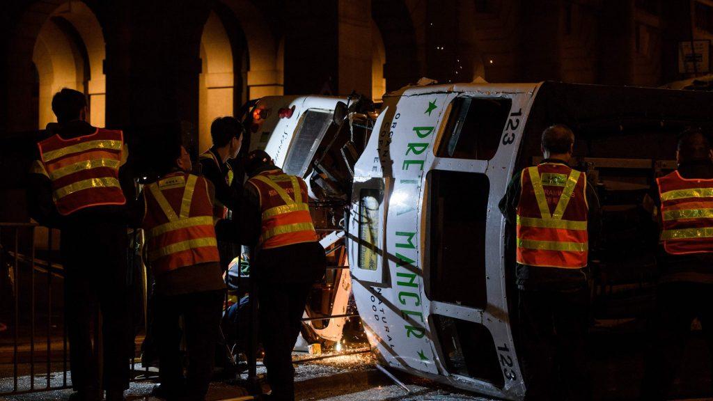 accident Tramway Hong Kong