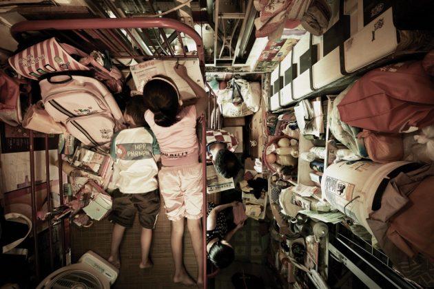 Maisons-cages à Hongkong