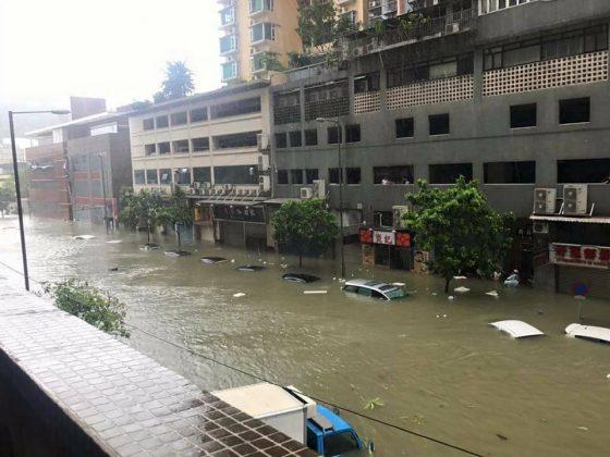 Inondations macao