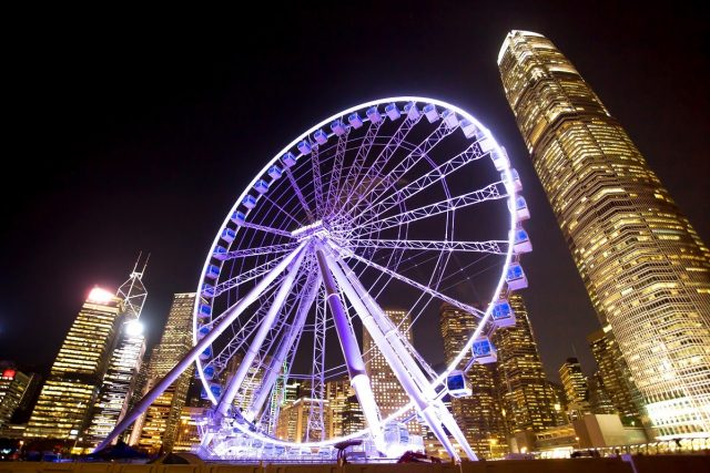 Grande roue Hong Kong