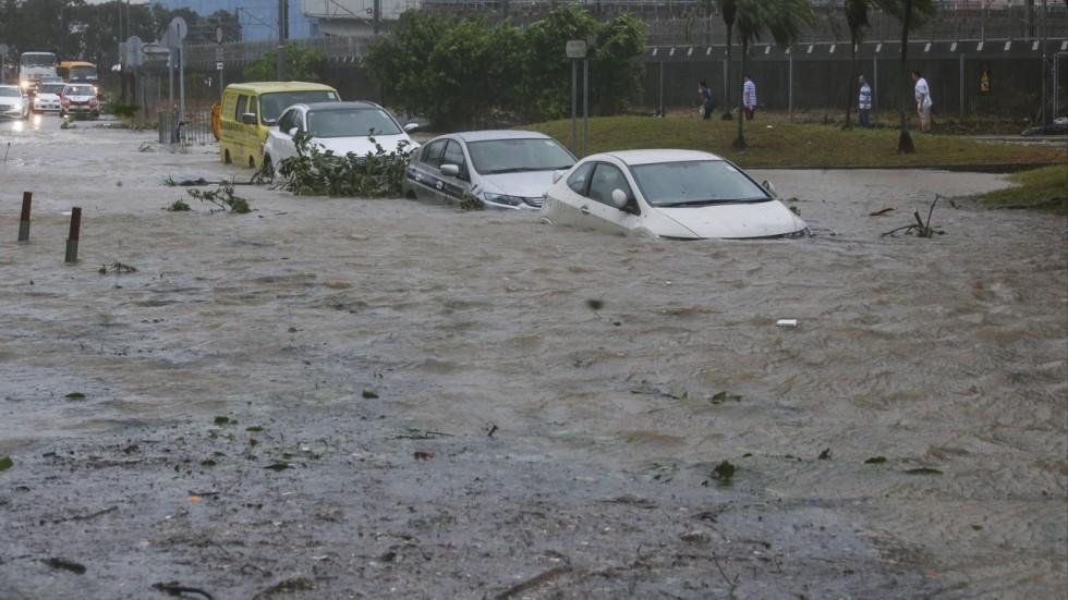 inondations HK
