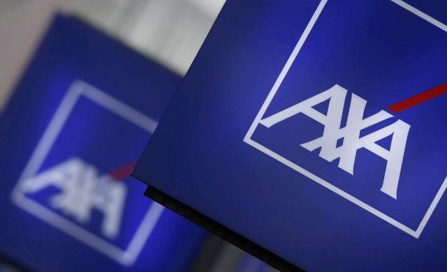 AXA logos