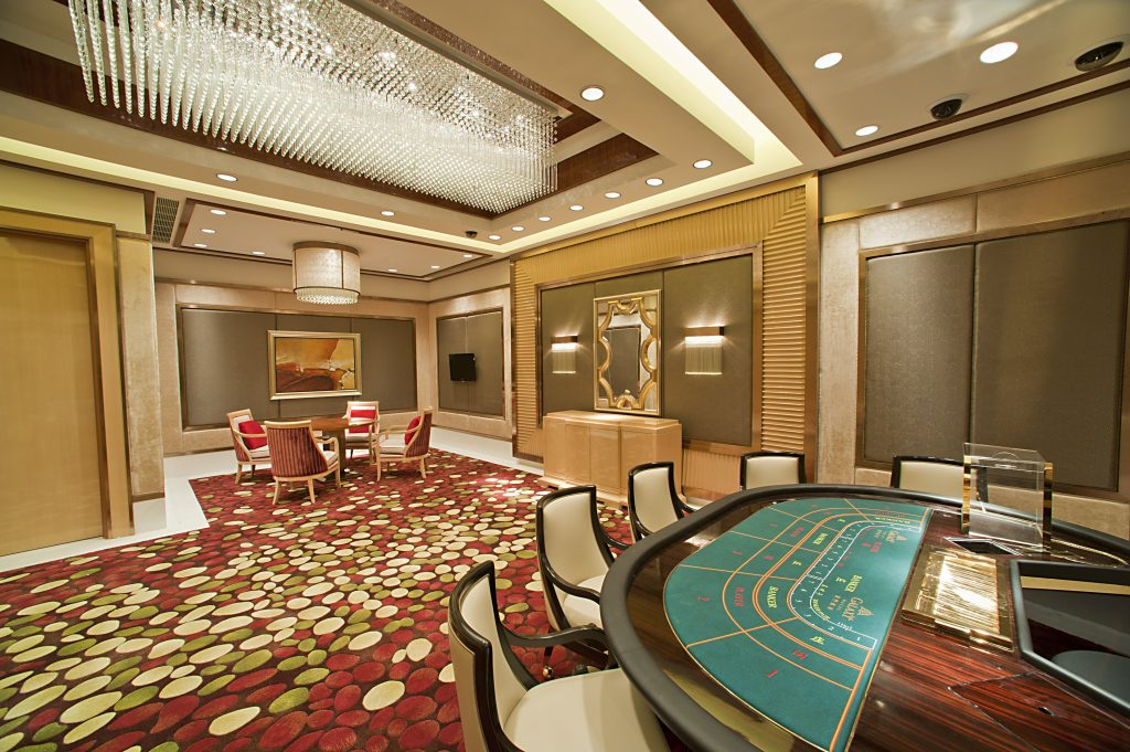 Galaxy Casino Sky 32 VIP lounge Macao