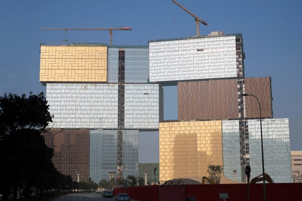MGM Cotai construction