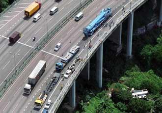 accident bus Tuen Mun