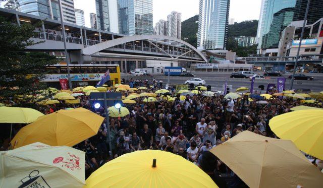 anniversaire occupy central