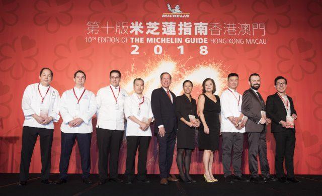 chefs 1 etoile Michelin Macao