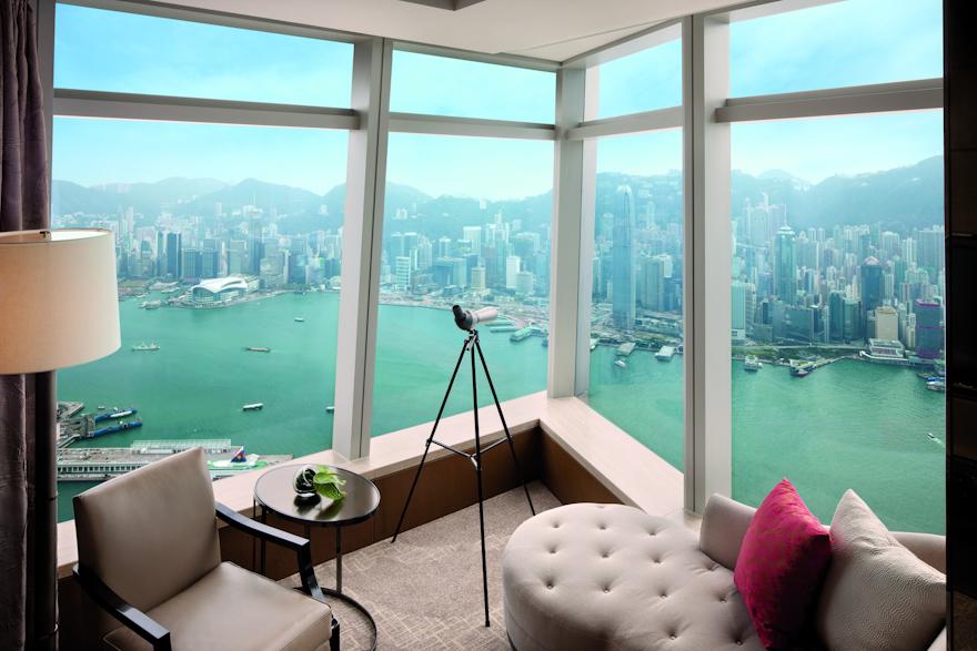 Ritz Carlton Hong Kong chambre