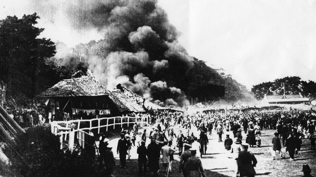 incendie happy valley 1918