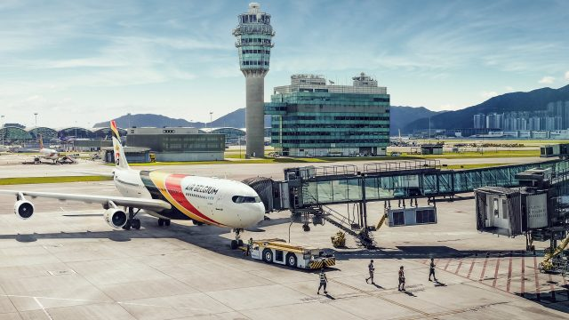 Air Belgium Hong Kong