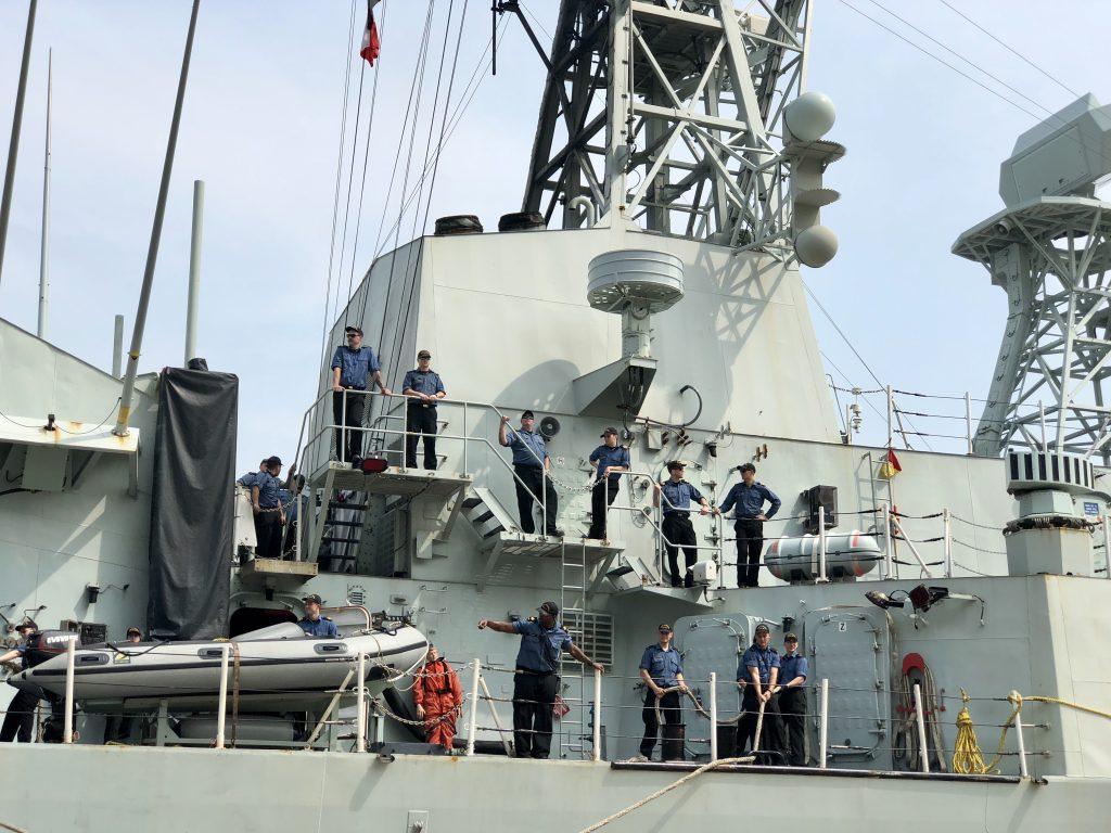 HMCS Vancouver HK
