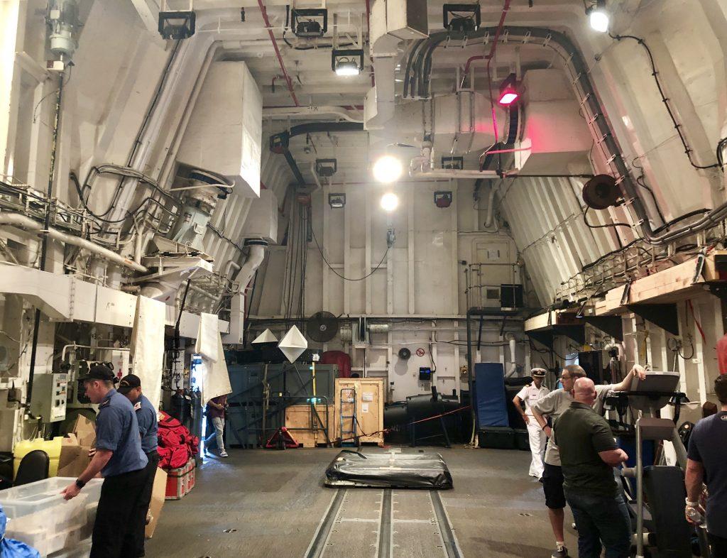 HMCS Vancouver hangar